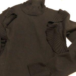Anthropologie black sweater